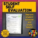 Self Evaluation for World Language Students