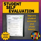 Self Evaluation for World Language Students