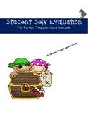 Self Evaluation for students for parent teacher conferences