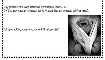 Reading Strategy Rubric