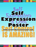 Self-Expression Art Poster