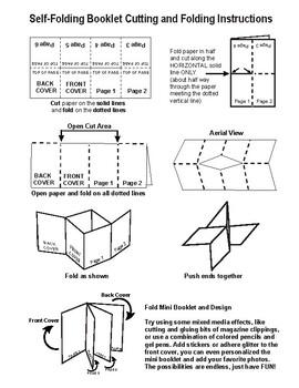Self Folding Mini Booklet