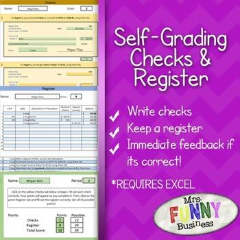 Self-Grading Checks & Register Assignment