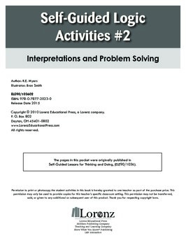 Self-Guided Logic Activities #2: Interpretations and Problem Solving