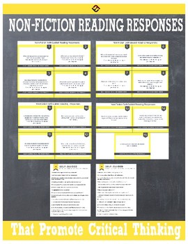 Self-Guided Non-Fiction Reading Responses