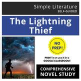 The Lightning Thief Comprehensive Novel Study - SimpleLit