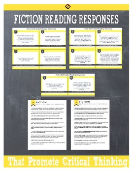 Self-Guided Fiction Reading Responses