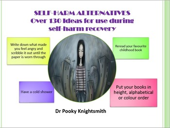 Self-Harm Alternatives - Over 130 Ideas for Use in Student Recovery
