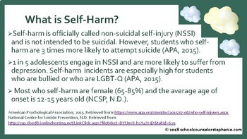 Self-Harm Prevention: Information for Staff