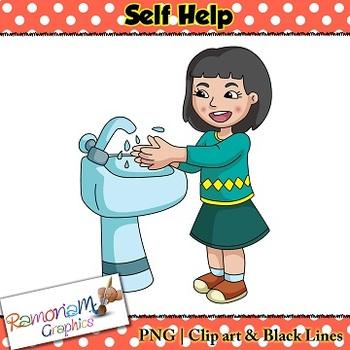 Self Help skills Clip art by RamonaM Graphics | Teachers ...