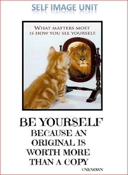 Self Image Unit Lesson 1 -- Who am I?