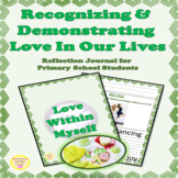 Self Love Reflection & Writing Prompts Activities for Prim