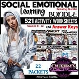 Social Emotional Learning Activity Worksheets and Keys BUN