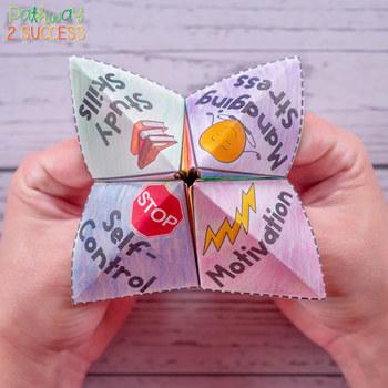 Self-Management Fortune Teller Craft