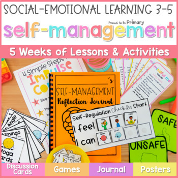 Self Management & Mindfulness - Social Emotional Learning | Distance Learning