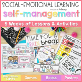 Self-Regulation, Self-Control & Self-Esteem Social Emotional Learning Curriculum