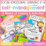 Self-Regulation, Self-Control & Self-Esteem Social Emotional Learning Curriculum