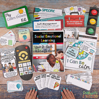 Self-Management Social Emotional Learning Unit for Elementary