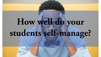 Self-Management and Goal Setting