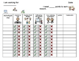 Self-Monitoring Behavior Charts