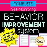 Self-Monitoring Behavior Improvement System - for ANY behavior problems!