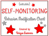 Self Monitoring Behavior Modification Chart {editable}