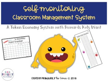 Self-Monitoring Classroom Management Plan