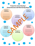 Self-Monitoring Comprehension Sheet