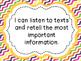 Self-Monitoring: Language Unit for Grades 1-2 -Saskatchewan
