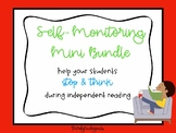 Self-Monitoring Mini Bundle - Help your students stop & think while reading!