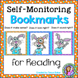 Self-Monitoring Reading Bookmarks