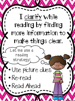 Monitor And Clarify Reading Is Thinking By Shahna Ahmed Tpt
