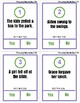 Self Monitoring Reading-Does it Make Sense? Clip Cards