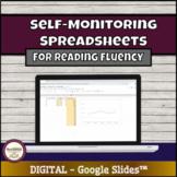 Self-Monitoring Reading Fluency Spreadsheet