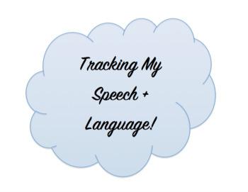 Self Monitoring Speech Sheet