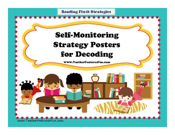 Self-Monitoring Strategy Posters for Decoding