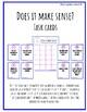 Self-Monitoring Task Cards Bundle