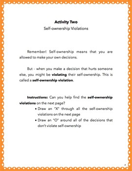Self Ownership for Kids