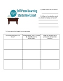 Self-Paced Learning Outline