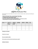 Self & Peer Evaluation Form
