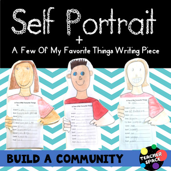 Self Portrait - Back To School Project (All About Me)