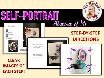 """Self-Portrait """"Absence of Me"""""""