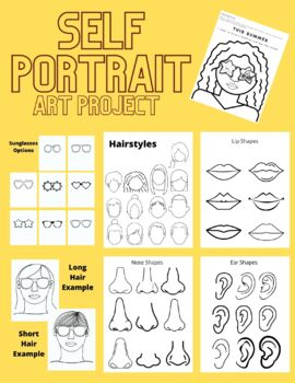 Self-Portrait Art Lesson