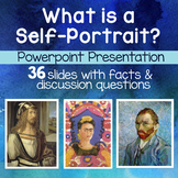 Self Portrait Art Power Point Presentation