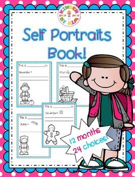 Self Portrait Book!
