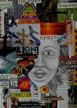 Self-Portrait Collage Lesson Plan