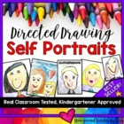 Beginning of the Year Self Portrait Directed Drawing! Best Seller!