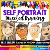 Back to School ... Self Portrait Directed Drawing Project!  Classic best seller!