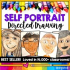Self Portrait Directed Drawing! Beginning/End of Year, Mother's Day, anytime!
