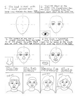 Self Portrait Drawing Handout!